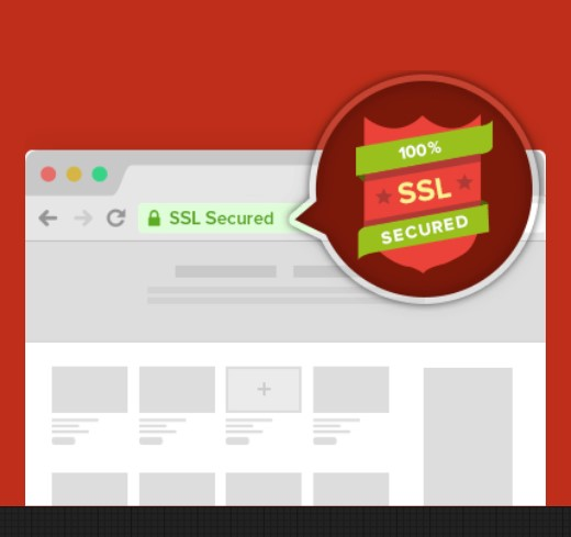 comodo ssl security slide